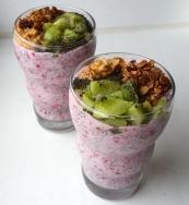 Marja-chia seemnete hommikusöök